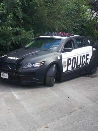 New robocop car