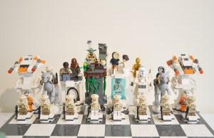 STAR WARS Hoth LEGO Chess Set