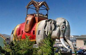 Lucy The Elephant Amazing Elephant-Shaped Building (3)