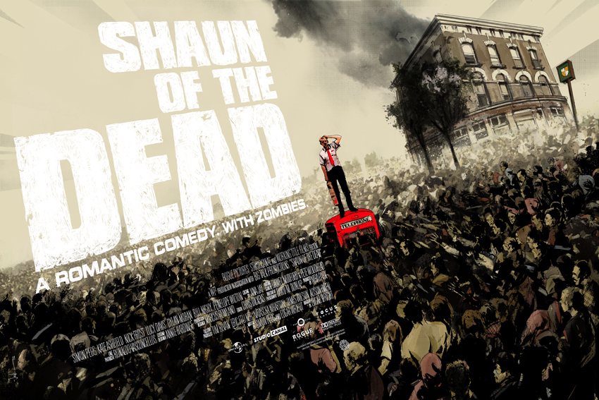 Mondo Prints For Shaun Of The Dead By Jock (2)