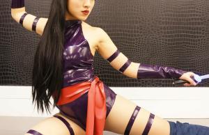 Psylocke cosplay