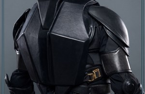 Leather Batman Backpack