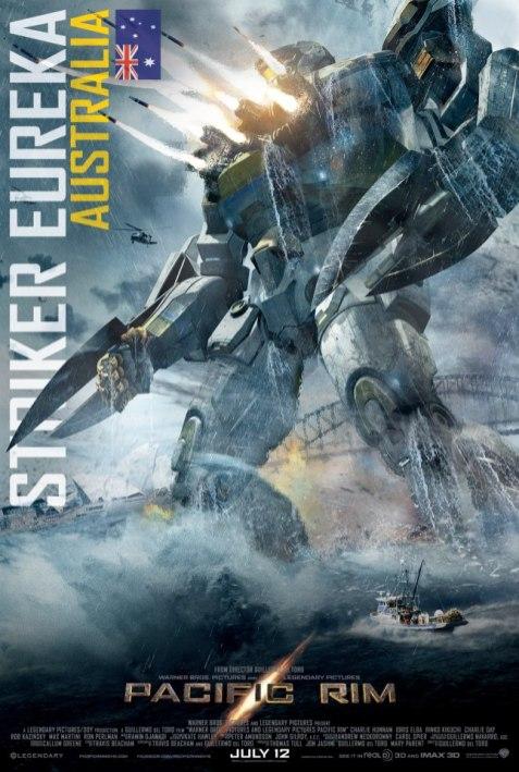 PACIFIC RIM Poster Striker Eureka Jaeger