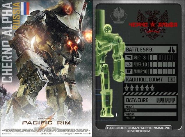 pacific rim russian Jaegers stats