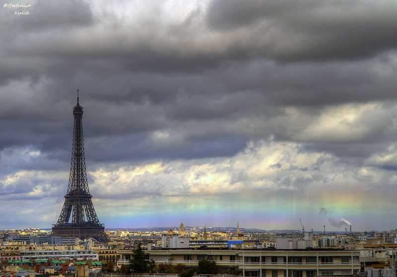 rainbow in paris 2013