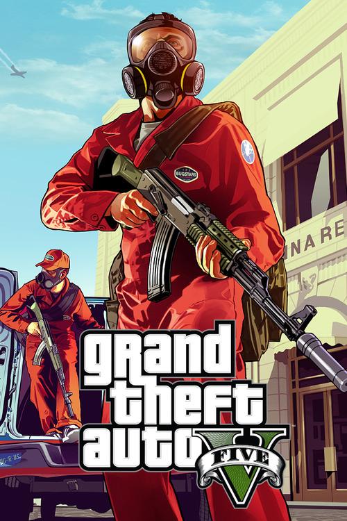 gta 5 poster