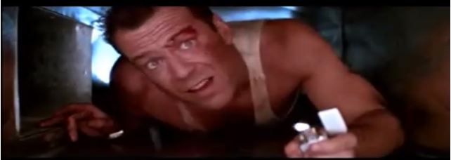 Famous Movie Scenes: Crawling Through a Ventilation System