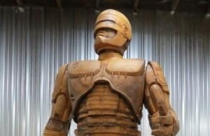 robocop statue in detroit