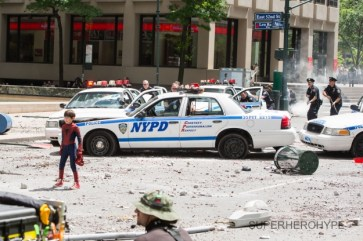 Amazing Spider-Man 2 Set Photos