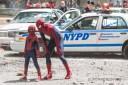 Amazing Spider-Man 2 Set Rhino Photos