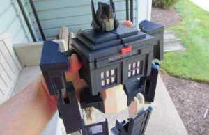 TARDIS Optimus Prime Transformer