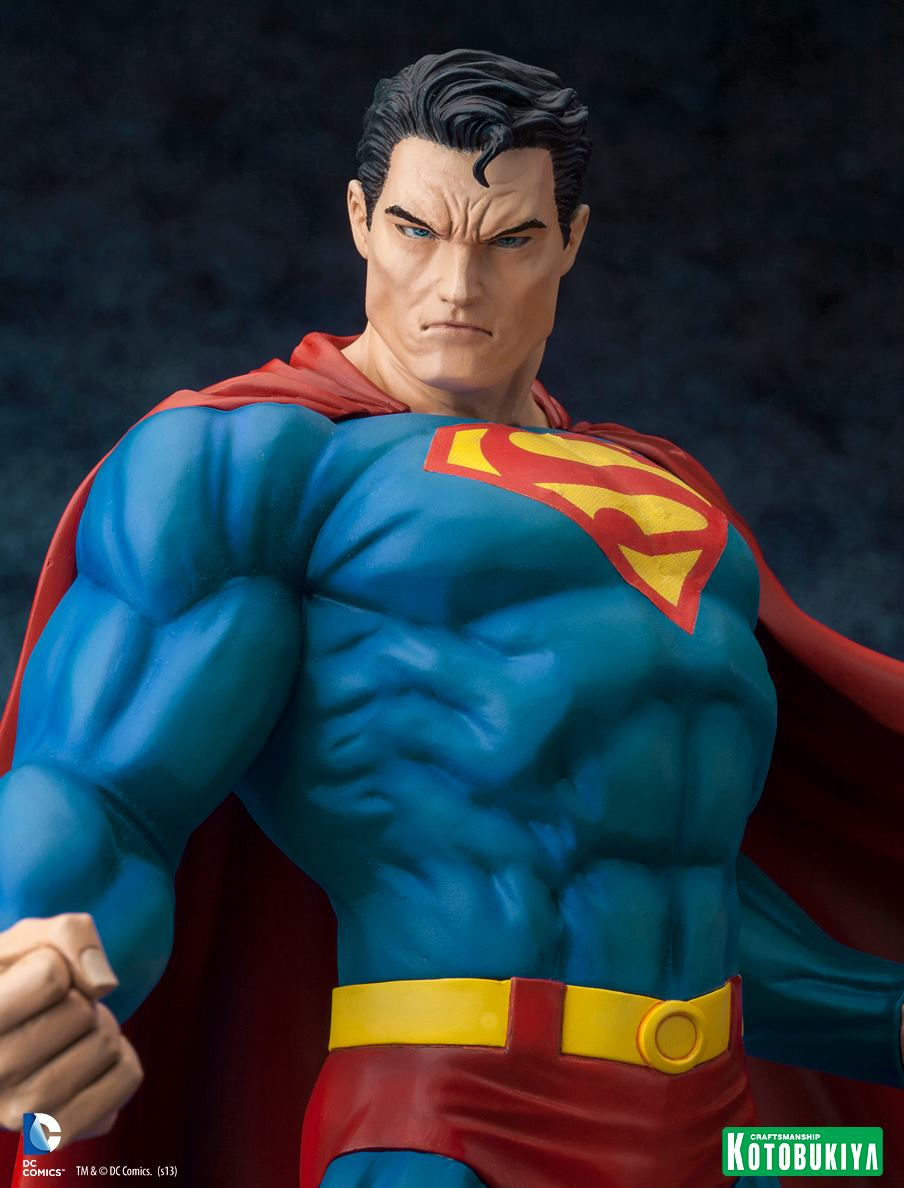 Kotobukiya's original Superman figure