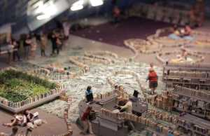 Library Sets Up World's Longest Book Domino Maze