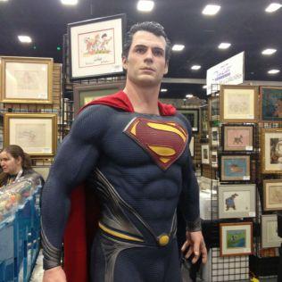 man of steel comic con 2013