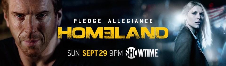 Homeland Third Season Poster