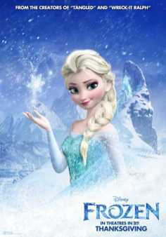 Character Posters for Frozen