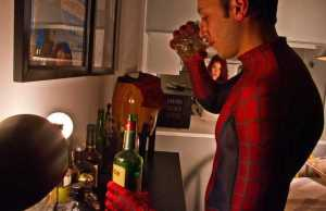 All That Crime Fighting Has Turned Spidey Into A Drinker