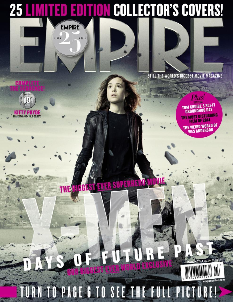Empire Xmen Days Of Future Past Covers (3)