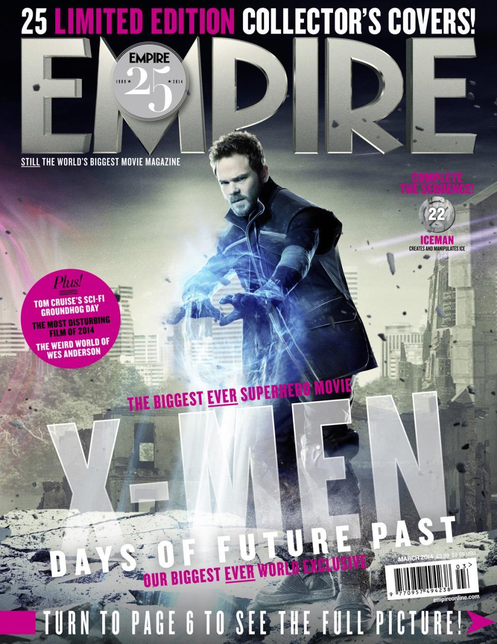 Empire Xmen Days Of Future Past Covers (6)