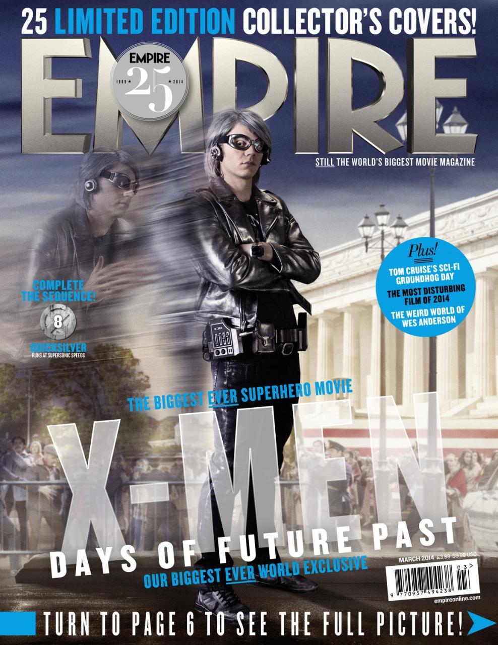 X-MEN DAYS OF FUTURE PAST Empire Magazine Covers  (10)