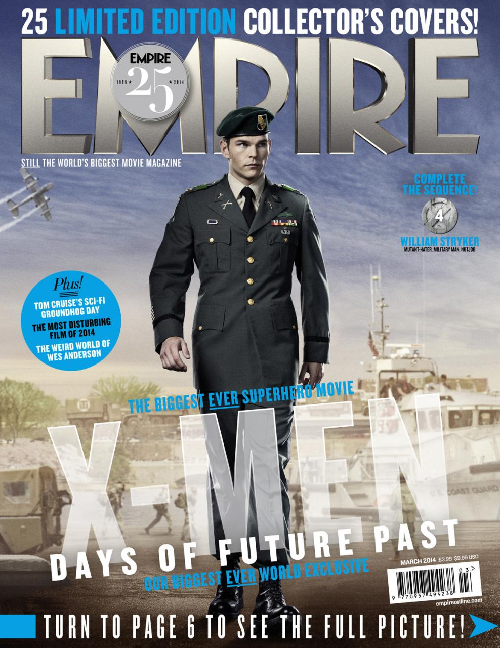 X-MEN DAYS OF FUTURE PAST Empire Magazine Covers  (13)