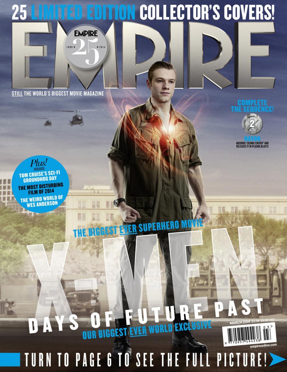X-MEN DAYS OF FUTURE PAST Empire Magazine Covers  (15)