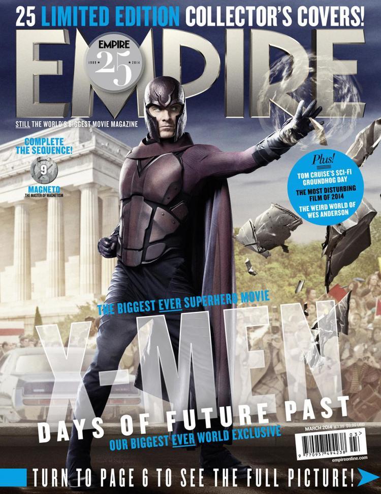 X-MEN DAYS OF FUTURE PAST Empire Magazine Covers  (3)