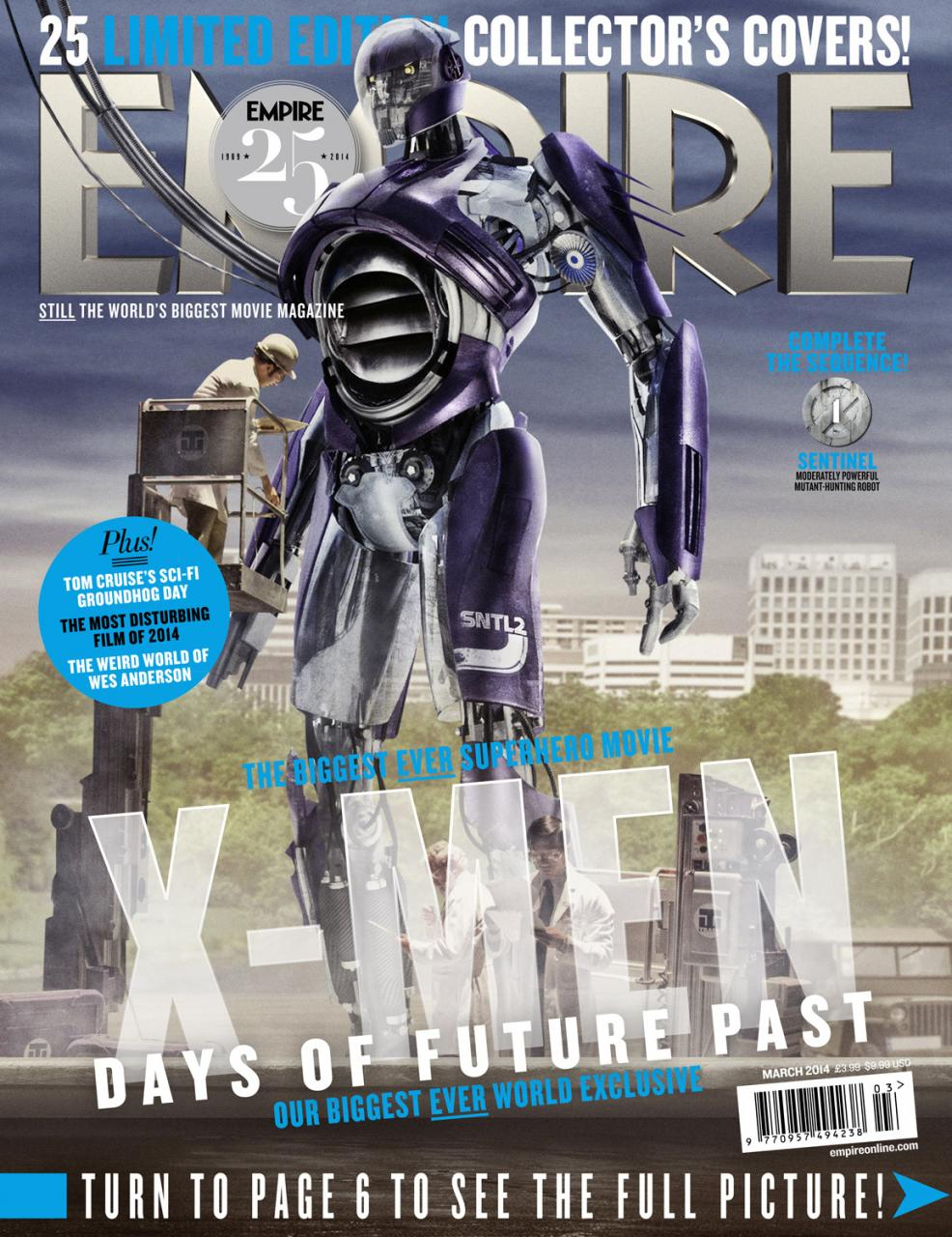 X-MEN DAYS OF FUTURE PAST Empire Magazine Covers  (7)