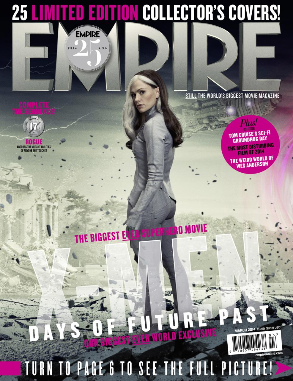 X-MEN DAYS OF FUTURE PAST Empire Magazine Covers  (9)