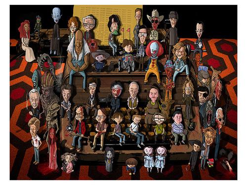 Stephen King Art Show