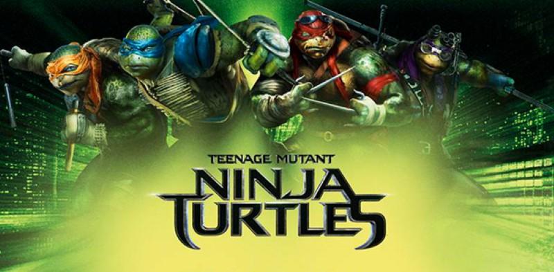 TEENAGE MUTANT NINJA TURTLES Movie Banner