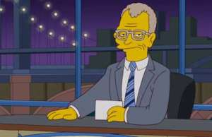 The Simpsons Made This Loving Tribute To Letterman