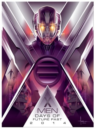 X-MEN: DAYS OF FUTURE PAST Sentinels Poster Art