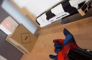 Guy Makes His Own Spider Man Web Slinger