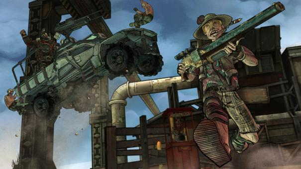 Tales from the Borderlands Screenshots