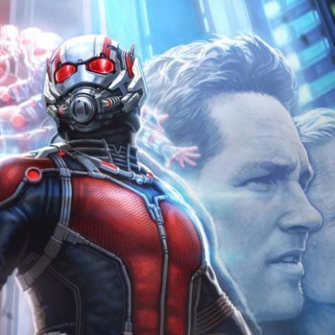 Marvel Studios Releases Ant-Man Concept Art