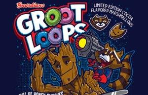 Superhero Cereal Art