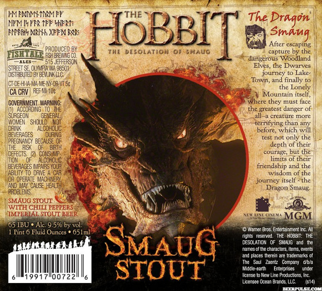 Line Of Officially Licensed Hobbit Beers Coming Out