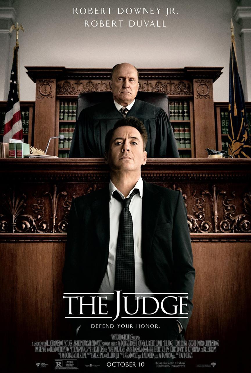 The Judge Poster, Featuring Robert Downey Jr