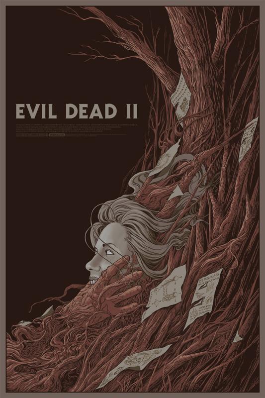 Mondo Posters for evil dead 2