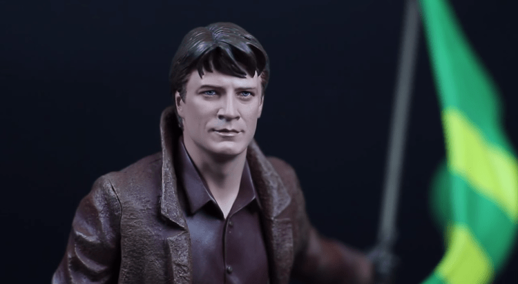FIREFLY's Malcolm Reynolds 1:6 Scale Statue Debut in a Video