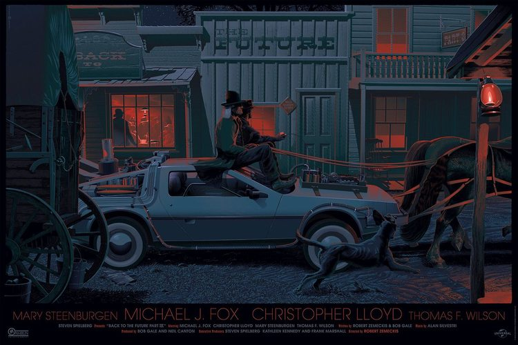BACK TO THE FUTURE Trilogy Art
