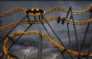 New Terrifying Batman Roller Coaster At Six Flags