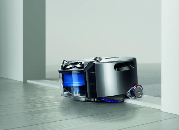 Dyson 360 Eye Robo-Vacuum Brings 360-Degree Camera
