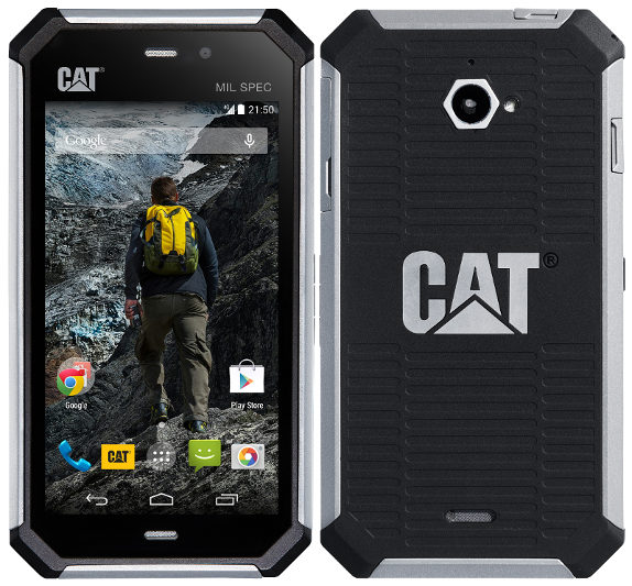 CAT Unveils The Super Rugged S50 Smartphone
