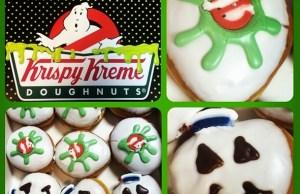 GHOSTBUSTERS Themed Donuts from Krispy Kreme
