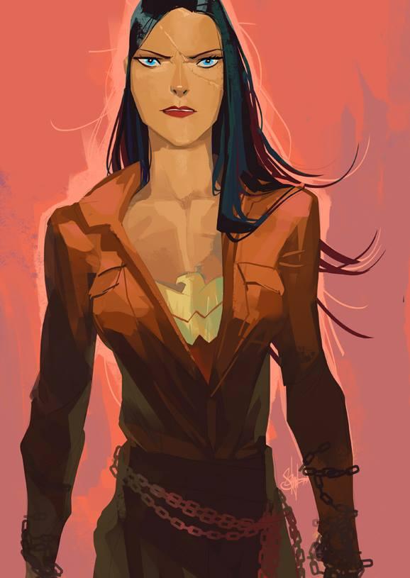 Wonder Woman: Rebellion of Justice Art
