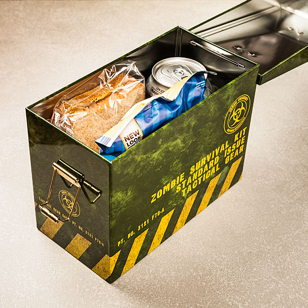 Zombie Survival Ammo Lunchbox