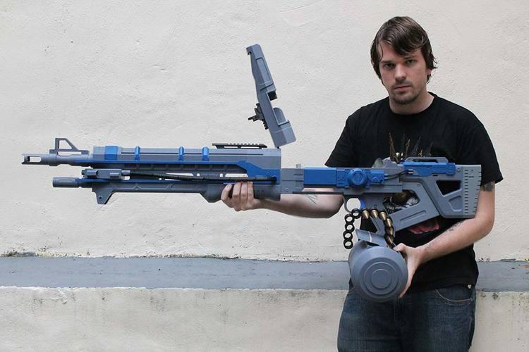DESTINY 3D Printed Guns