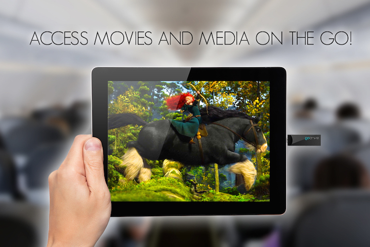 GoDrive - Watch Movies On The Go!
